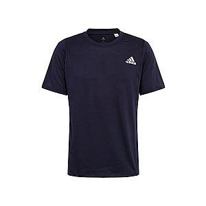 ADIDAS PERFORMANCE Funkčné tričko biela / námornícka modrá vyobraziť