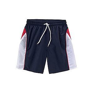 BENCH Plavecké šortky námornícka modrá / červená / biela vyobraziť