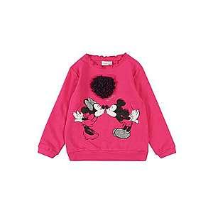 NAME IT Mikina 'Minnie Mouse' fuksia vyobraziť