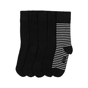 SCHIESSER Ponožky sivá / čierna vyobraziť