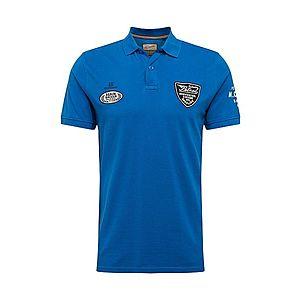 Petrol Industries Tričko čierna / modré / biela vyobraziť