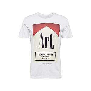 EINSTEIN & NEWTON Tričko červené / biela vyobraziť