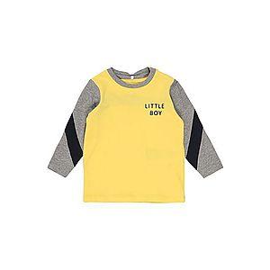 NAME IT Tričko sivá / žlté vyobraziť