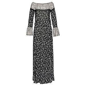 LASCANA Plážové šaty čierna / piesková vyobraziť