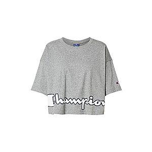 Champion Authentic Athletic Apparel Tričko sivá vyobraziť