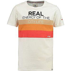 GARCIA Tričko biela / čierna / oranžová / červená vyobraziť