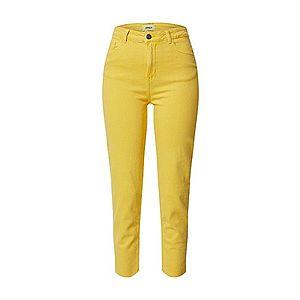 ONLY Džínsy žlté vyobraziť