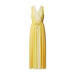 COMMA Šaty žlté vyobraziť