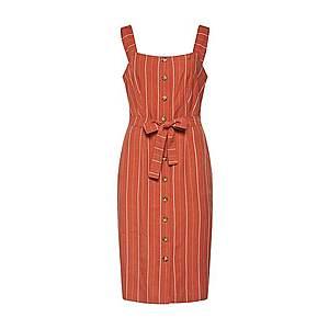 NÜMPH Letné šaty 'NUALYVIA' hrdzavo červená vyobraziť