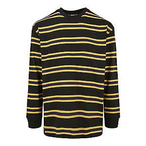 Urban Classics Tričko žlté / čierna vyobraziť