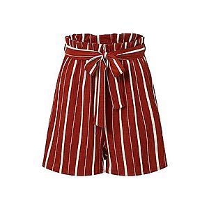 EDITED Nohavice 'Ainsley' hrdzavo červená / hrdzavohnedá / červené vyobraziť
