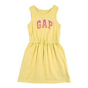GAP Šaty žlté vyobraziť