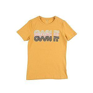 NAME IT Tričko 'FANNY' žlté / biela / svetloružová / čierna vyobraziť