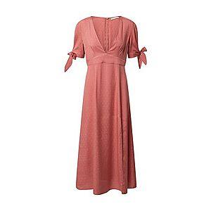 GLAMOROUS Šaty hrdzavo červená vyobraziť