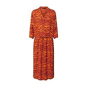 SOAKED IN LUXURY Košeľové šaty 'Zaya' hrdzavo červená vyobraziť