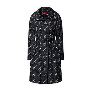HUGO Prechodný kabát 'Felin' biela / čierna vyobraziť