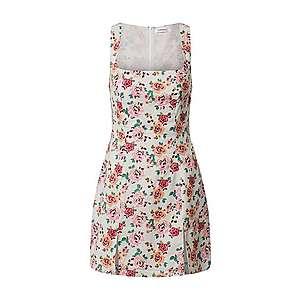 GLAMOROUS Šaty biela / ružová / ružová vyobraziť