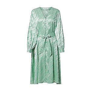Samsoe Samsoe Košeľové šaty 'SAVARINE' zelená vyobraziť