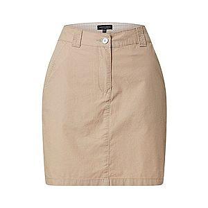 Dorothy Perkins Sukňa 'stone poplin mini skirt' béžová vyobraziť