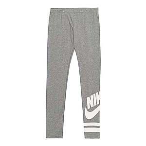 Nike Sportswear Legíny biela / sivá vyobraziť