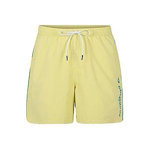 QUIKSILVER Plavecké šortky žlté vyobraziť