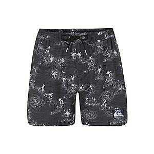 QUIKSILVER Plavecké šortky sivá / čierna vyobraziť