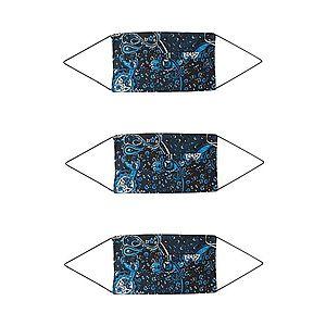 ONLY Látkové rúško '3er Pack ONLCOMMUNITY' čierna / modré vyobraziť