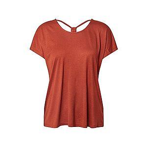 ONLY Tričko 'ONLCARRIE' hrdzavo červená vyobraziť