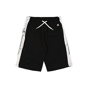 Champion Authentic Athletic Apparel Športové nohavice čierna / biela vyobraziť
