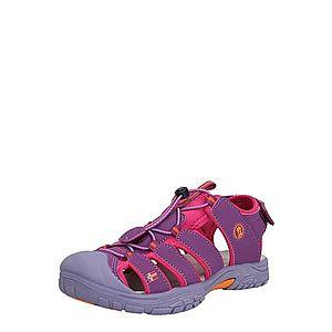 TROLLKIDS Otvorená obuv 'Kvalvika' fuksia / fialová vyobraziť