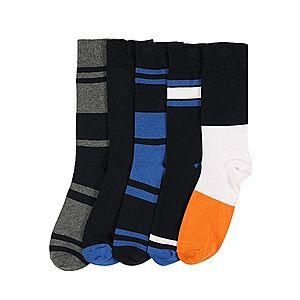 BURTON MENSWEAR LONDON Ponožky antracitová / čierna / modré vyobraziť