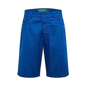 UNITED COLORS OF BENETTON Chino nohavice modré vyobraziť