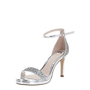 BUFFALO Remienkové sandále 'MAISIE' strieborná vyobraziť