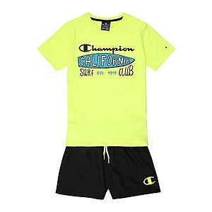 Champion Authentic Athletic Apparel Set žlté / čierna vyobraziť