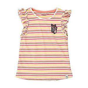 GARCIA Tričko zelená / limetková / ružová / biela / malinová vyobraziť