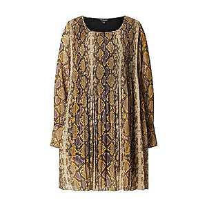 True Religion Šaty hnedá / žltá vyobraziť