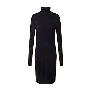 SAINT TROPEZ Pletené šaty 'U6801, MilaSZ' čierna vyobraziť
