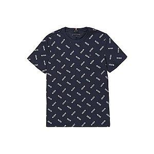 Tommy Hilfiger Tommy Hilfiger Tričko s potlačou loga tmavomodrá S vyobraziť