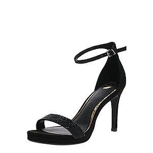 BUFFALO Sandále čierna vyobraziť