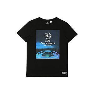 NAME IT Tričko čierna / modré vyobraziť