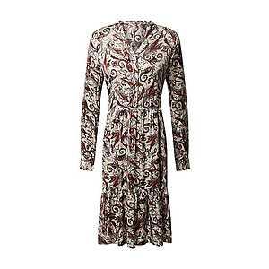Soyaconcept Košeľové šaty 'Kendra 3' hrdzavo červená / béžová / krvavo červená / čierna / sivá vyobraziť