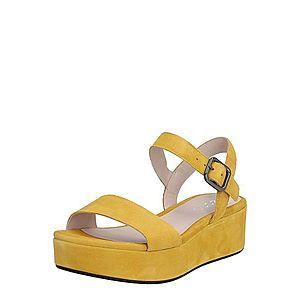 ECCO Sandále žltá vyobraziť