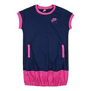 Nike Sportswear Šaty modré / fuksia vyobraziť
