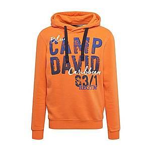 CAMP DAVID Mikina oranžová vyobraziť