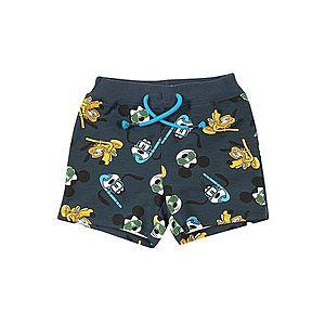 NAME IT Nohavice 'Mickey Magnar' námornícka modrá / zmiešané farby vyobraziť