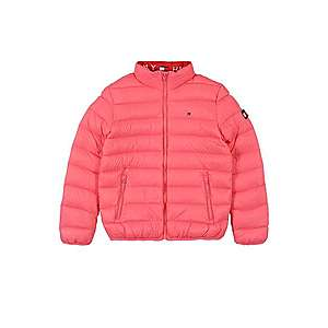TOMMY HILFIGER Prechodná bunda ružová vyobraziť