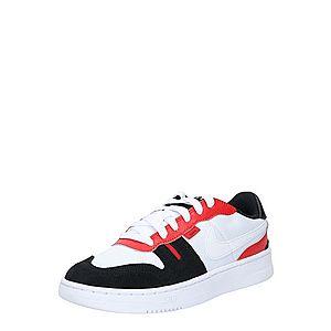 Nike Sportswear Tenisky čierna / červená / biela vyobraziť