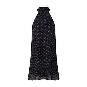 Trendyol Kokteilové šaty čierna / biela vyobraziť