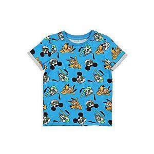 NAME IT Tričko 'Mickey Francis' zmiešané farby / svetlomodrá vyobraziť