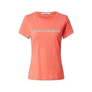 Calvin Klein Jeans Tričko hrdzavo červená vyobraziť
